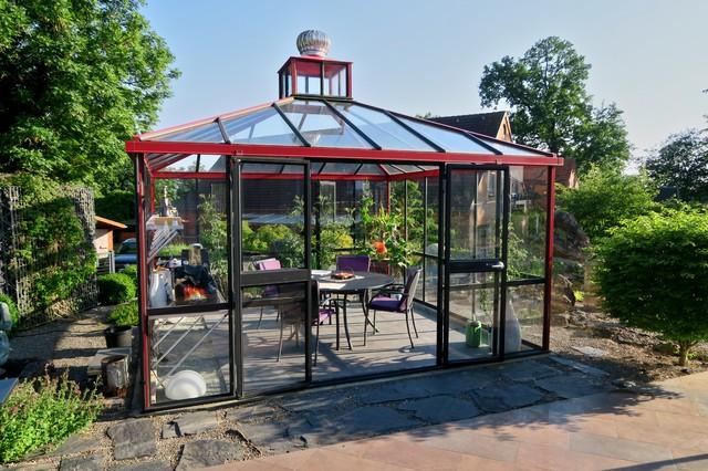 Decker Immobilien gewächshaus traditional sunroom bremen by wil decker immobilien