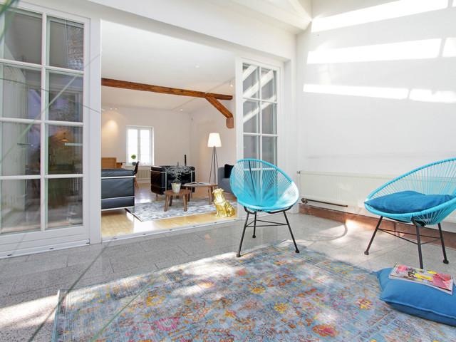 homestagingprojekt historisches geb ude modern wintergarten sonstige von hausundso. Black Bedroom Furniture Sets. Home Design Ideas