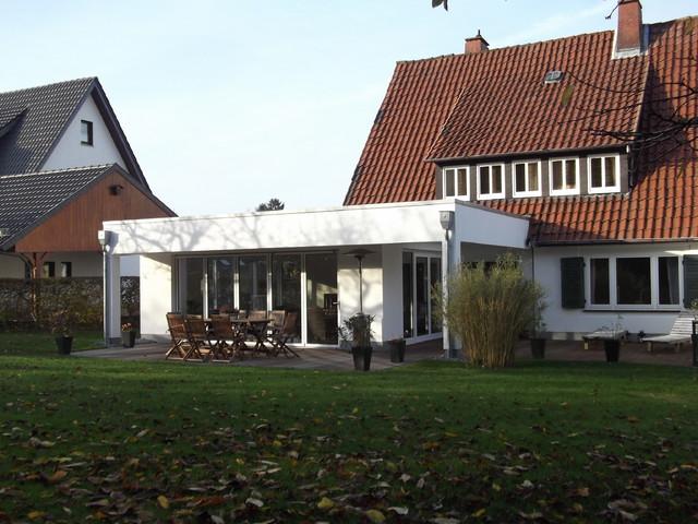Moderner Anbau moderner anbau an siedlungshaus contemporary sunroom other