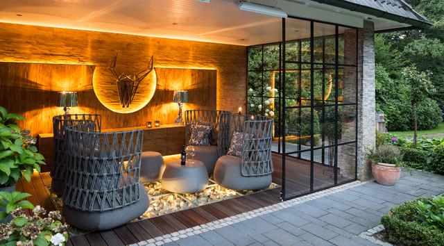 Terrasse Gestaltung terrassengestaltung für einfamilienhaus contemporary