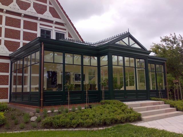 viktorianischer orangerie wintergarten sekelskiftes. Black Bedroom Furniture Sets. Home Design Ideas