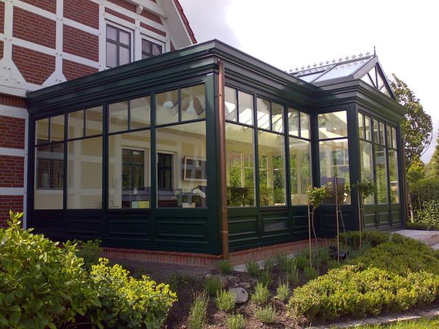 viktorianischer orangerie wintergarten victorien. Black Bedroom Furniture Sets. Home Design Ideas