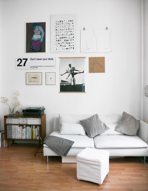 1-Raum Wohnung Berlin インダストリアル-ファミリールーム