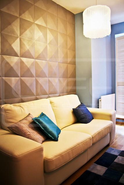 3D Wandpaneele aus Gips - Klassisch - Wohnzimmer - Sonstige ...