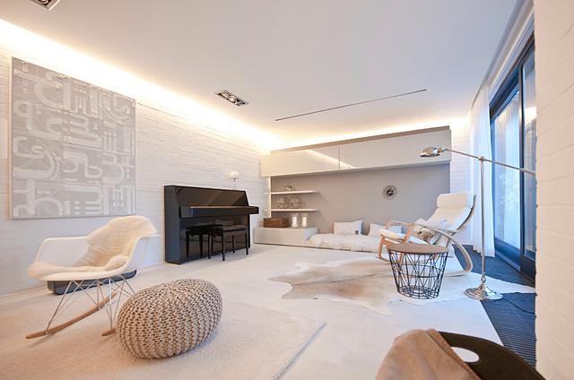 400 qm Atrium Bungalow in Bayern - Renovierung und Interior Design ...