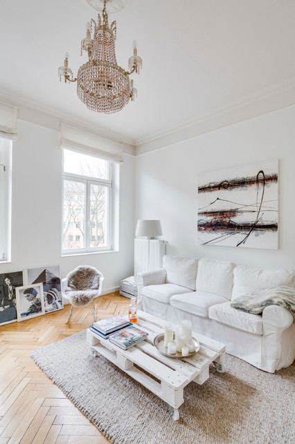 Altbau Amp Modern In K 246 Ln Skandinavisch Wohnzimmer