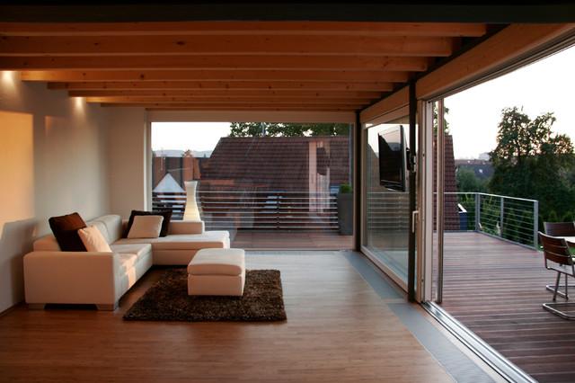 anbau mo modern wohnbereich stuttgart von w3. Black Bedroom Furniture Sets. Home Design Ideas