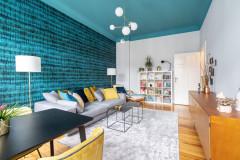 Mit blauen Decken zu mehr Wohn- und Lebensqualität