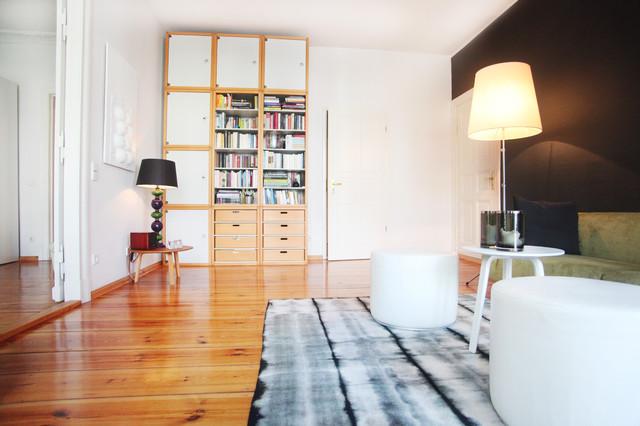 Apartment Berlin Prenzlauer Berg - Anni \'50 - Soggiorno - Berlino ...
