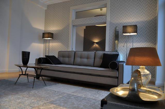 art deco glamour 130m loft im stil der 20er jahre klassisch wohnzimmer frankfurt am main. Black Bedroom Furniture Sets. Home Design Ideas