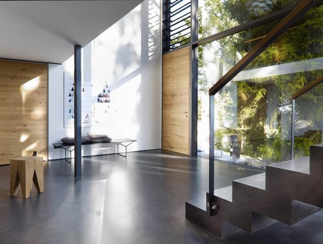 ausbau g modern wohnbereich m nchen von wiedemann. Black Bedroom Furniture Sets. Home Design Ideas