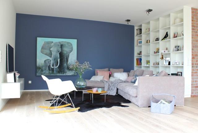 Villa Wohnzimmer Modern - Design