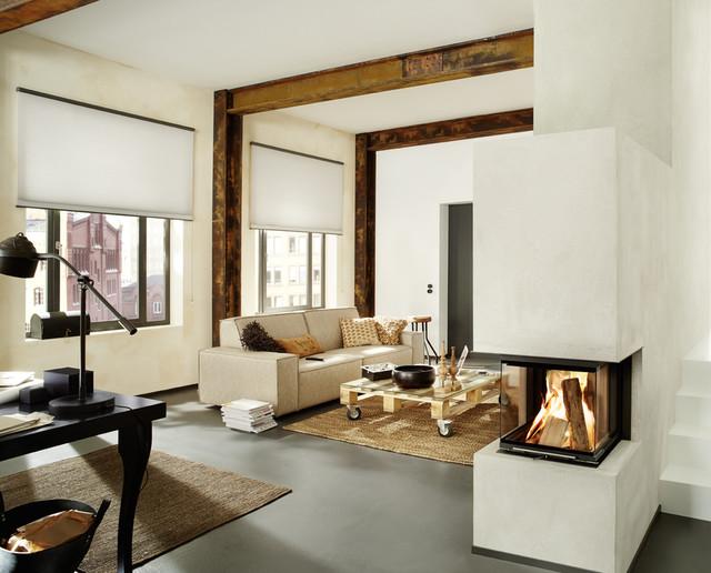 bsk 10 der kleine panorama kamin modern wohnbereich. Black Bedroom Furniture Sets. Home Design Ideas
