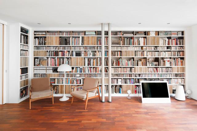 Bücherwand Altholz - Modern - Wohnzimmer - Dortmund - von Julian ...