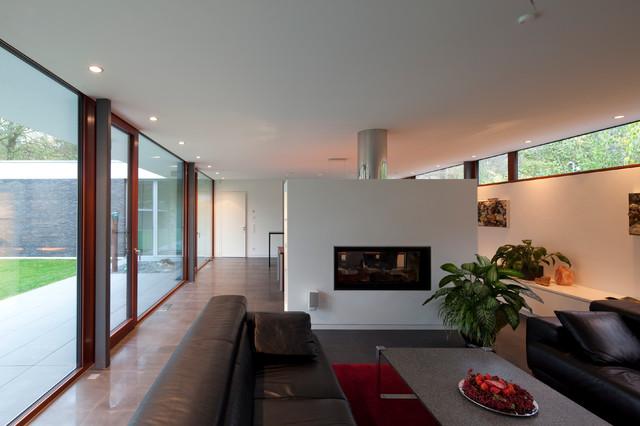 bungalow in potsdam - modern - wohnzimmer - berlin - von justus, Moderne deko