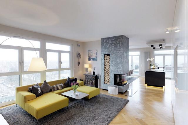Contemporary Living Room - Modern - Wohnbereich - Nürnberg