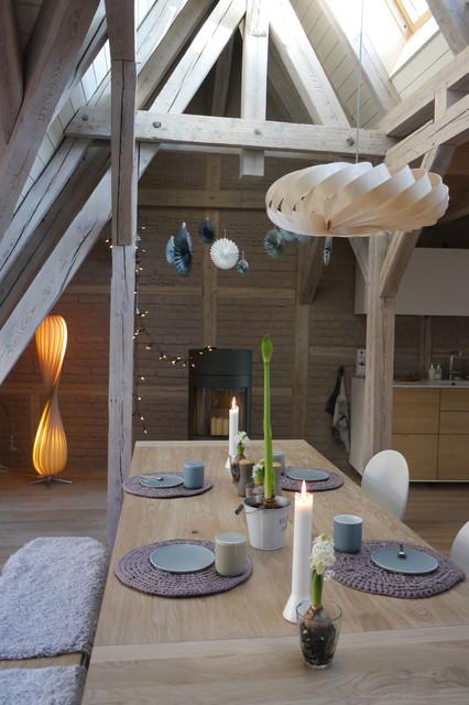 dachgeschoss ausbau mit massivholz modern wohnbereich sonstige von holzdesignpur. Black Bedroom Furniture Sets. Home Design Ideas