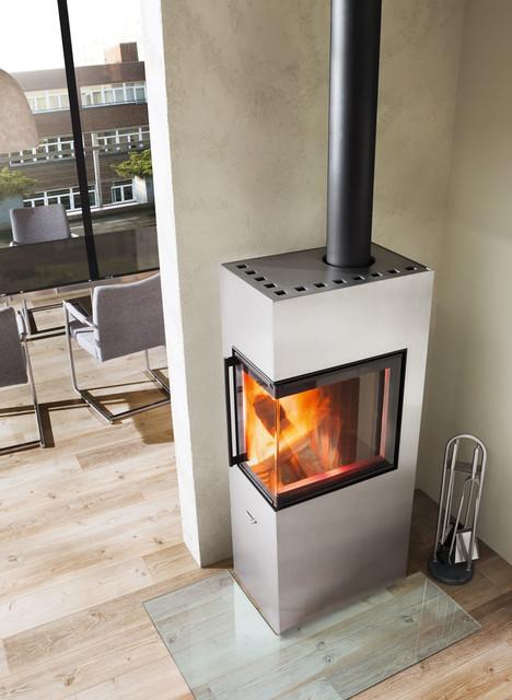 Spartherm Feuerungstechnik design kaminofen premium selection athene modern living room