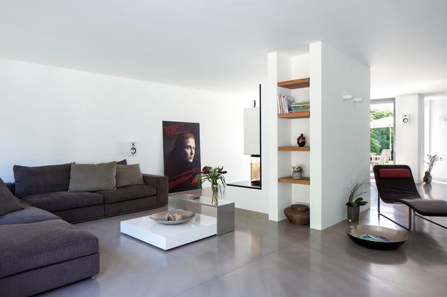 Architekt Meerbusch einfamilienhaus in meerbusch - contemporary - living room - essen