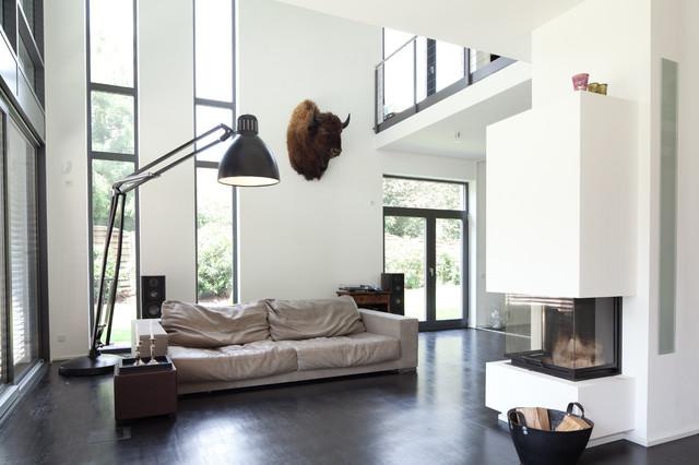 Fantastisch Einfamilienhaus Neubau Contemporary Living Room