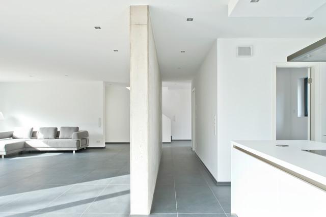 Doppelgarage modern  Einfamilienwohnhaus mit Doppelgarage