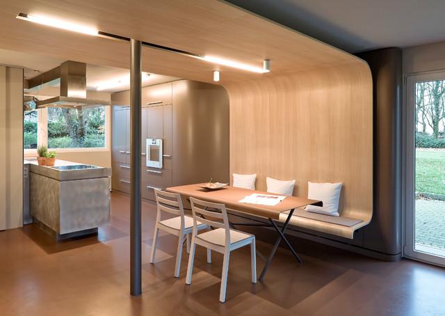wohnen im l ndlichen bereich in einem umgebauten fertighaus modern k che k ln von achim. Black Bedroom Furniture Sets. Home Design Ideas