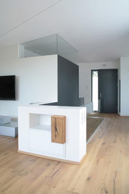 Faltenwurf mit Ausblick, Haus_K - Contemporary - Living ...