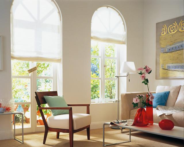 Fensterdekoration for Fensterformen modern