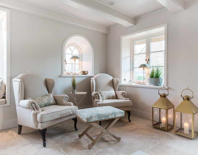 Fotoarbeiten reetdachhaus in list auf sylt landhausstil for Wohnzimmer im landhausstil