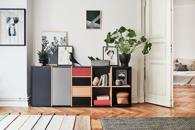 F nffarbiges sideboard von mycs modern wohnzimmer for Wohnzimmer sideboard modern