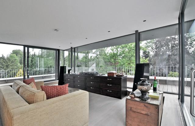 haus k modern wohnzimmer k ln von stufe 4 architektur. Black Bedroom Furniture Sets. Home Design Ideas
