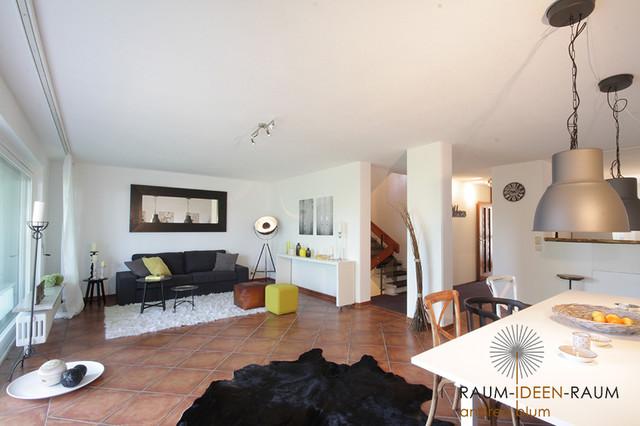 Raumideen Wohnzimmer | Home Staging Grosses Reihenhaus Landhausstil Wohnzimmer