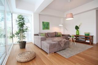 Home Staging Offenes Wohnzimmer Im Loft