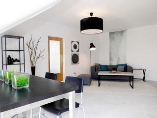 Home staging wohnung in duisburg industrial wohnzimmer - Wohnzimmer dortmund ...