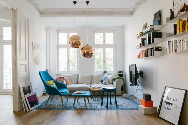Houzzbesuch Lea Lange Eklektisch Wohnzimmer