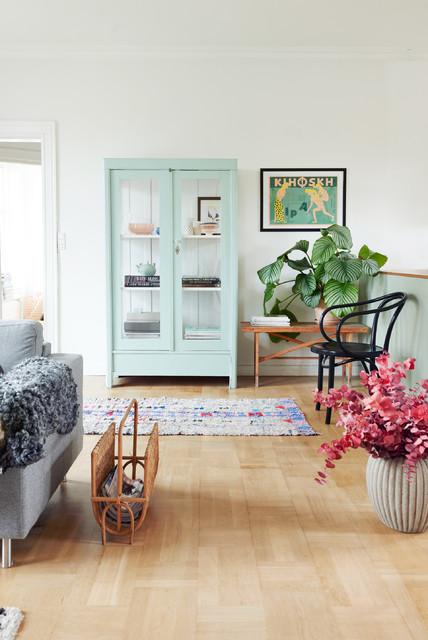 Impressionen Wohnzimmer/Küche - Skandinavisch - Wohnbereich ...