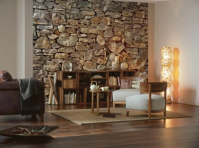 Wandverkleidung In Steinoptik: Ideen Fürs Wohnzimmer