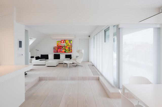 innenarchitektur penthouse berlin skandinavisch wohnbereich berlin von goderbauer architects. Black Bedroom Furniture Sets. Home Design Ideas