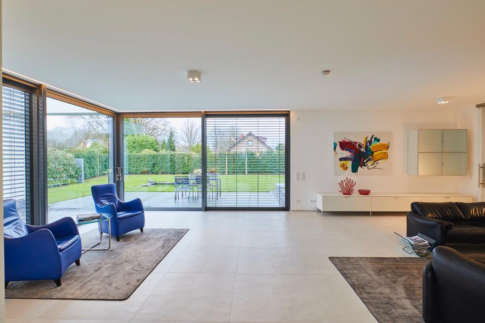 Inneneinrichtung Einer Bauhausstil Villa Contemporary Family Room Dortmund By Dipl Ing Carsten Krafft Architekt