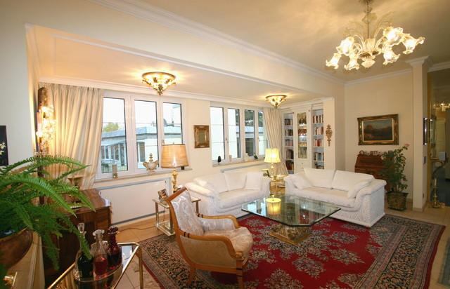 Klassische einrichtung klassisch wohnzimmer m nchen for Klassische wohnzimmer