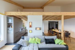 k chen modern wohnbereich m nchen von schreinerei. Black Bedroom Furniture Sets. Home Design Ideas
