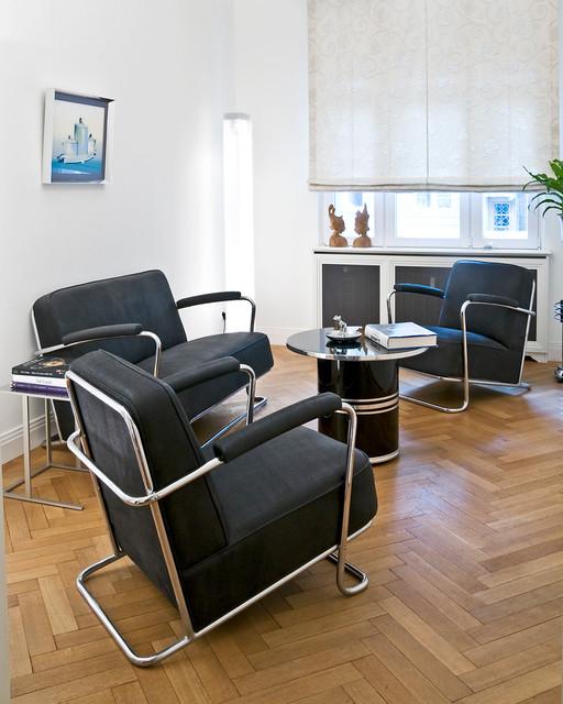 k hne formen strenge linien bauhaus und art deco pur mid century wohnzimmer d sseldorf. Black Bedroom Furniture Sets. Home Design Ideas