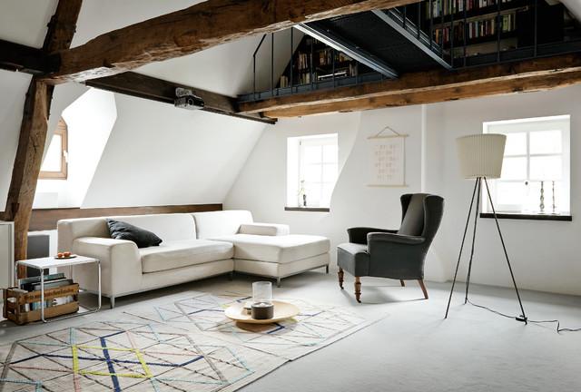 landhausstil-wohnzimmer.jpg - Wohnzimmer Ideen Beamer