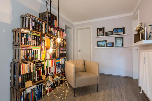 Leseecke mit Ikea-Möbeln - Modern - Wohnzimmer - Nürnberg ...