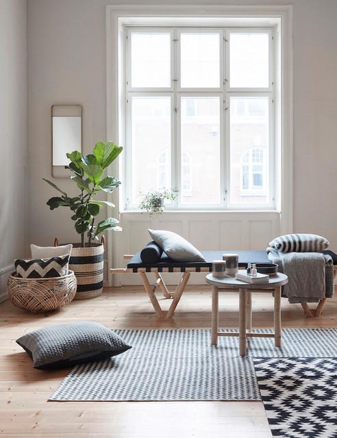 Living with Hübsch Interior - Skandinavisch - Wohnzimmer - Dresden ...