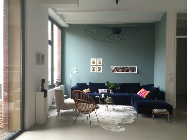 Loft Berlin - Contemporary - Family Room - Berlin - by Spaces & Places