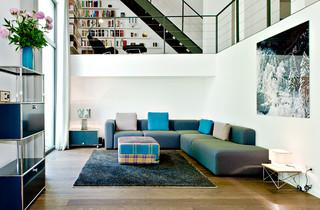 loft hamburg schanzenviertel modern wohnzimmer. Black Bedroom Furniture Sets. Home Design Ideas