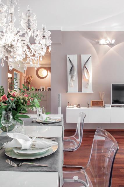 luxurious apartment in berlin modern wohnbereich. Black Bedroom Furniture Sets. Home Design Ideas