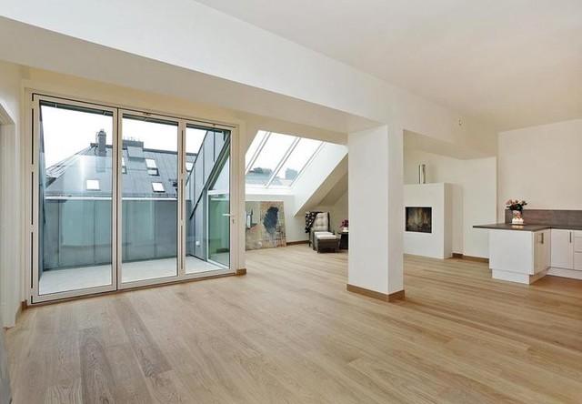 luxus appartment modern wohnbereich dortmund von weitzer parkett showroom bochum. Black Bedroom Furniture Sets. Home Design Ideas
