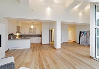 luxus appartment modern wohnbereich dortmund von. Black Bedroom Furniture Sets. Home Design Ideas